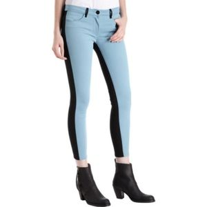 """3x1 """"BARNEY'S EXCLUSIVE"""" Colorblock Skinny Jeans"""